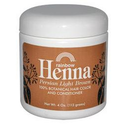 HENNA,PERSIAN LIGHT BROWN 4 OZ