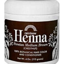 MEDIUM BROWN HENNA  34 OZ