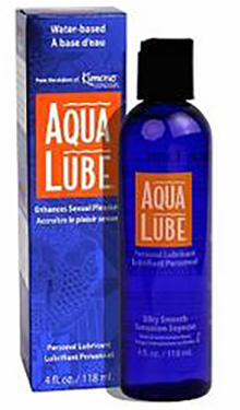 AQUA LUBE PERSONAL LUBRICANT LIQUID WATER-BASED  4 OZ