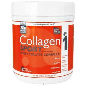 COLLAGEN SPORT WHEY ISO PROTEIN CHOCOLATE  1.49 LB