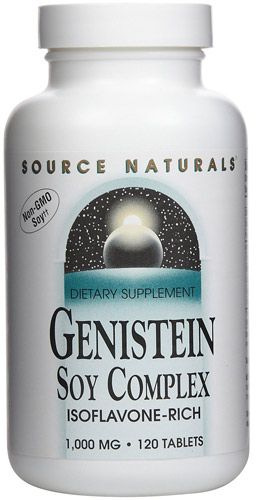 GENISTEIN 1000 MG SOY ISOFLAVONE 120 TABS