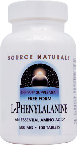 L-PHENYLALANINE 500 MG 100 TABS
