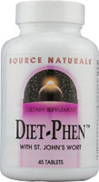 DIET-PHEN CLASSIC WITH ST. JOHN'S WORT 45 TABS