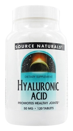 HYALURONIC ACID 50MG 120 TABS