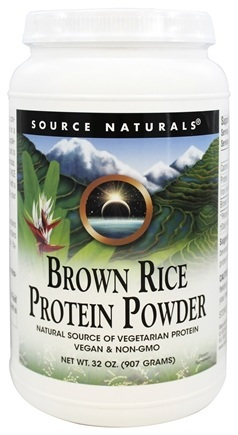 BROWN RICE PROTEIN POWDER 2LB (907GM)