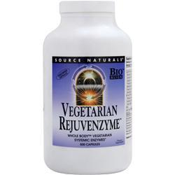 REJUVENZYME™ WHOLE-BODY™ ENZYMES VEGETARIAN BIO-ALIGNED™  500 CAPSULE