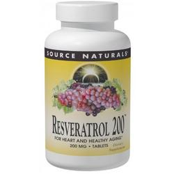 RESVERATROL 200™ 50% STANDARDIZED EXTRACT  120 TABLET