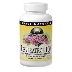 RESVERATROL 100™ 50% STANDARDIZED EXTRACT  240 TABLET