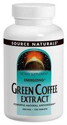 ENERGIZING* GREEN COFFEE EXTRACT 500MG  120 TABLET