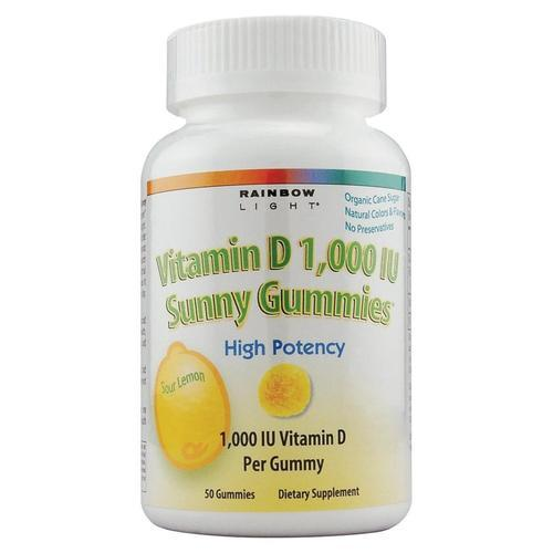 Vitamin D 1000IU Sunny Gummies Lemon  100 顆