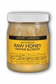 RAW HONEY ORANGE BLOSSOM  2 LB