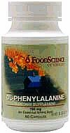 DL-PHENYLALANINE CAPS 60