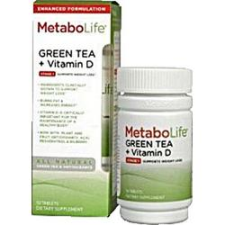 METABOLIFE GREEN TEA WITH VITAMIN D  50 TAB