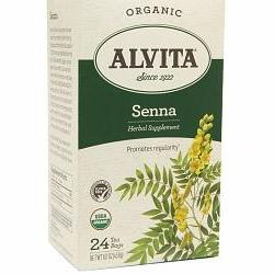 SENNA LEAF TEA ORGANIC  24 BAG