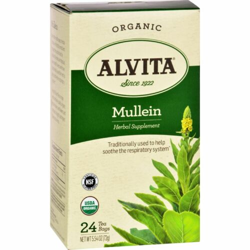 Mullein Leaf Tea Organic  24 bag