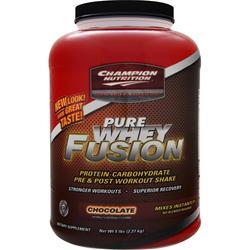 PURE WHEY FUSION CHOCOLATE  5 LB