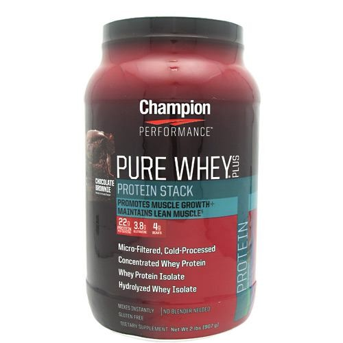 PURE WHEY PLUS CHOCOLATE BROWNIE  2 LB