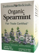 ORGANIC SPEARMINT  16 BAG