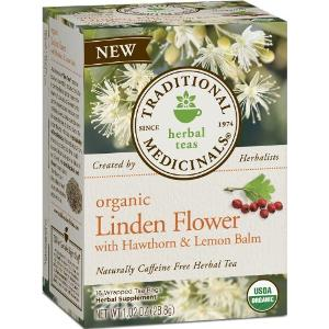 LINDEN WITH HAWTHORN & LEMON BALM TEA  16 BAG