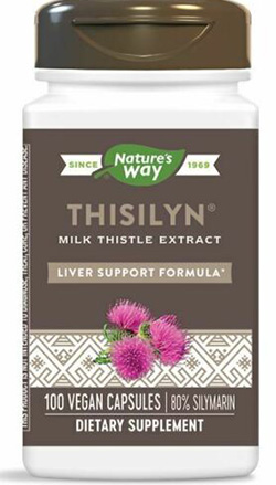 THISILYN MILK THISTLE EXTRACT 100 CAPS