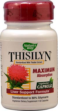 THISILYN MILK THISTLE EXTRACT 60 CAPS