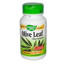 OLIVE LEAF HERBAL SINGLE 100 CAPS