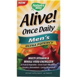Alive! Once Daily Men's Ultra  60 tablet