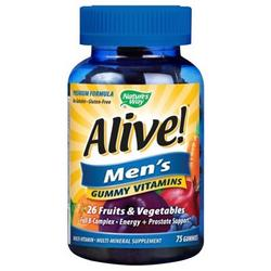 ALIVE! MEN'S GUMMY MULTI VITAMIN  75 CT