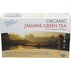 ORGANIC JASMINE GREEN TEA  100 BAG