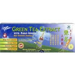 GREEN TEA EXTRACT W/GINSENG 30X10 CC