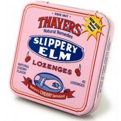 SLIPPERY ELM LOZENGES CHERRY  42 LOZ