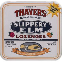 SLIPPERY ELM LOZENGES ROSE HIPS TANGERINE  42 LOZ