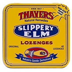 SLIPPERY ELM LOZENGES PLAIN  42 LOZ