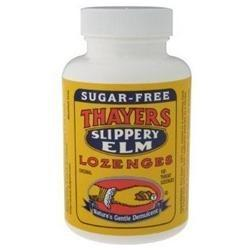 SLIPPERY ELM LOZENGES PLAIN SUGAR-FREE  100 LOZ