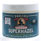 WITCH HAZEL PADS MEDICATED  60 PAD