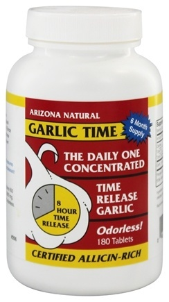 Garlic Time Time Release  180 capsule