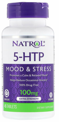 5-HTP 100MG TIME RELEASE 45 TAB