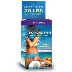 TROPICAL THIN WEIGHT LOSS PLAN  60 CAP