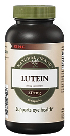 NATURAL BRAND LUTEIN 20 MG 60 CAPS