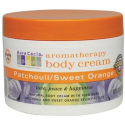 Body Cream Patchouli Sweet Orange 8 oz