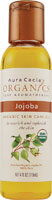 Organics Skin Care Oil Jojoba 4 oz