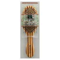 REGULAR NYLON BRISTLE BAMBOO HAIR BRUSH  1 UNIT