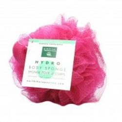 HYDRO BODY SPONGE W/HAND STRAP-ROSE  1 UNIT
