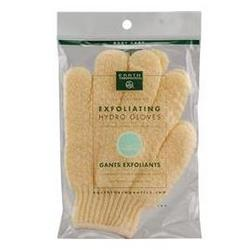 EXFOLIATING HYDRO GLOVES-NATURAL  1 UNIT