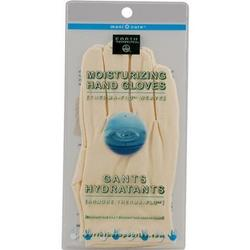 MOISTURIZING HAND GLOVES SOLID COLOR-NATURAL  1 PAIR
