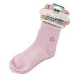 ALOE INFUSED SOCKS PINK  1 PAIR