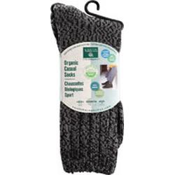 MEN'S BASIC CASUAL SOCKS CHARCOAL  1 UNIT