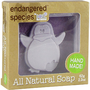 CHILD CHARACTER BAR SOAP PENGUIN  2.2 OZ