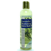 LAVENDAR BODY OIL 8 OZ