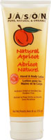 HAND&BODY LOTION APRICOT 8 OZ